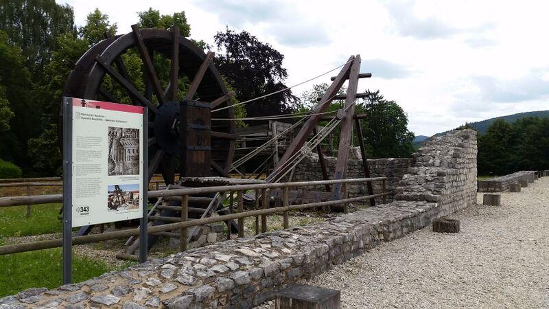 Lime Roman Ruins- Aalen