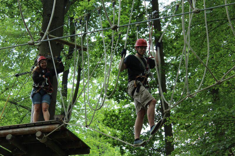 Rutesheim Beginning Rope course