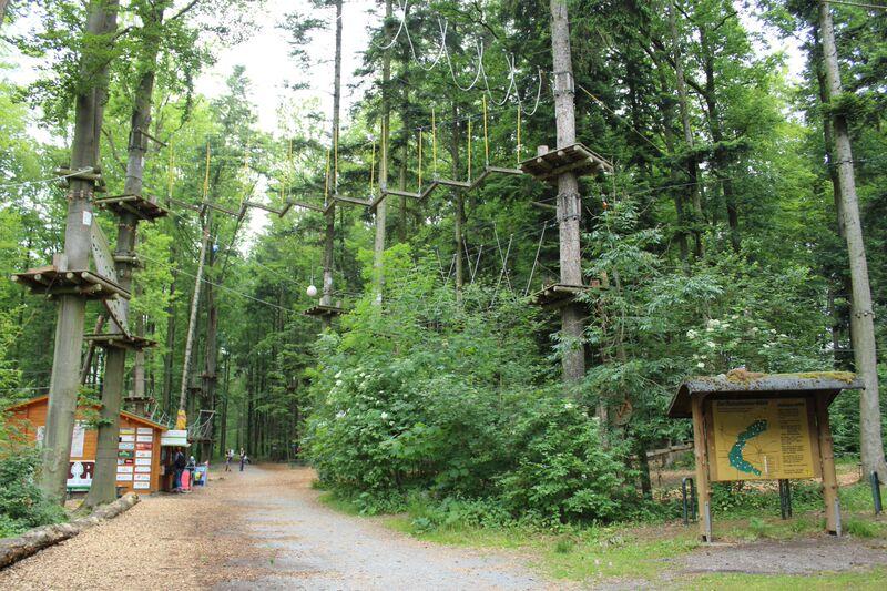 Rutesheim ropes course