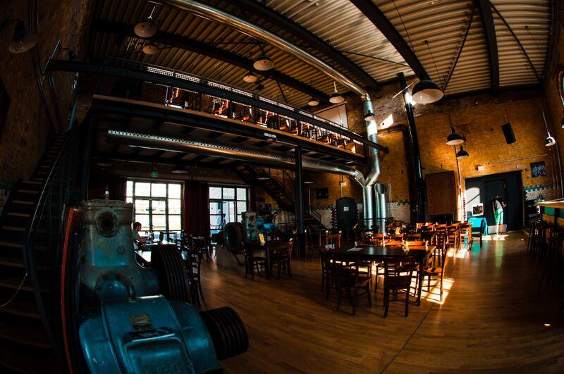 Wiesbaden Schlachthof inside