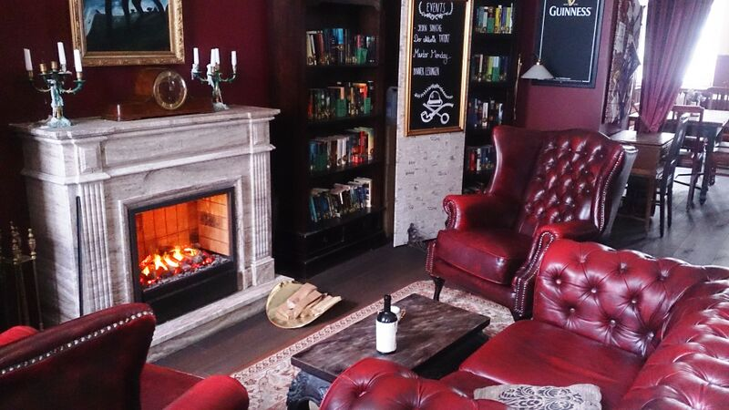 Baker Street  fireplace
