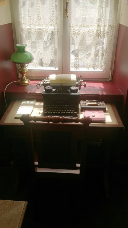 Baker Street  typerwriter
