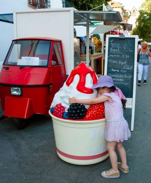 Eltville Sekt Fest ice cream