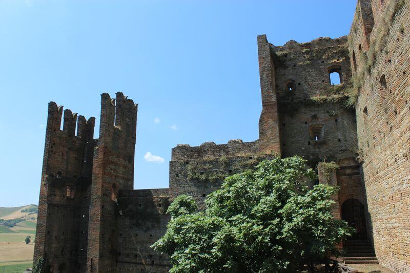 Emilia-Romagna, Italy Castell A'Quartro Prison Wendy