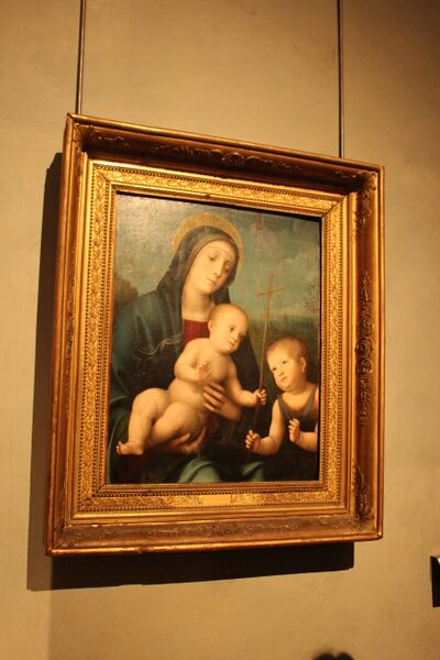 Emilia-Romagna, Italy Madonna with children Wendy