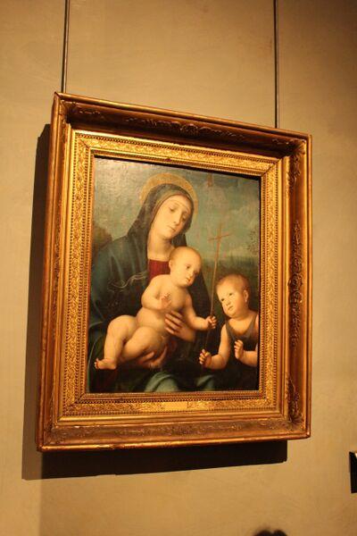 Emilia-Romagna, Italy Madonna with children Wendy