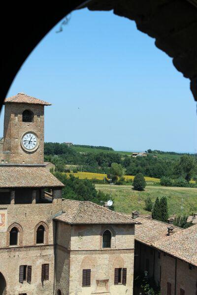 Emilia-Romagna, Italy Vigolena castle Wendy
