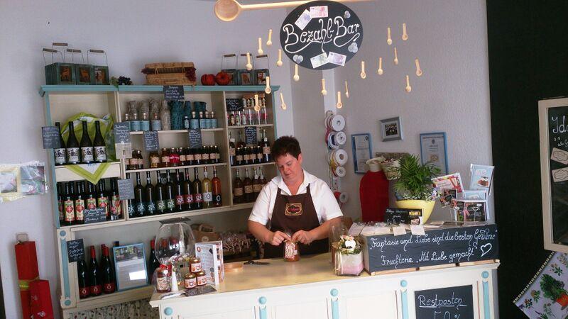 Fruchteria shop owner Kelly Dumont Fruchteria