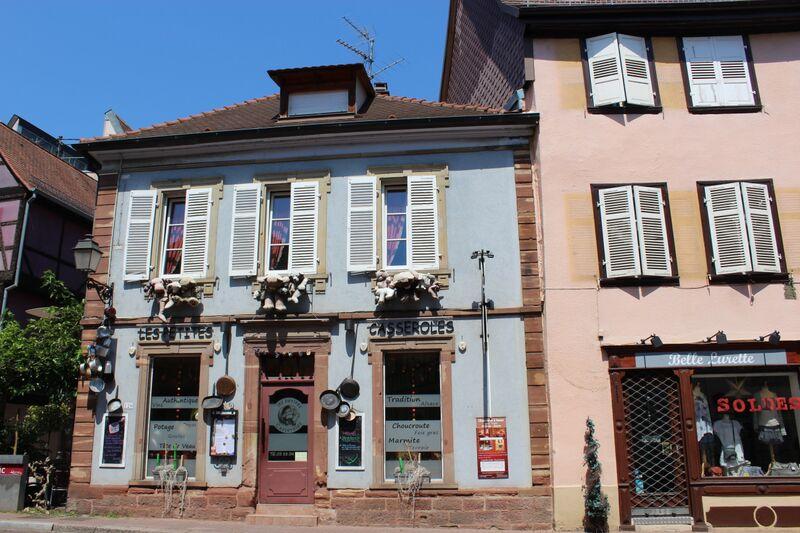 The heart of Alsace Les Petites Casserole Restaurant