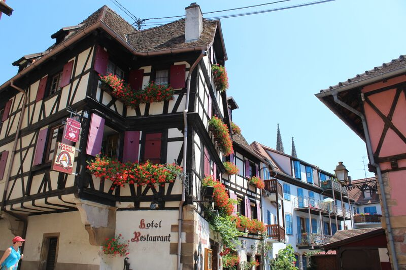 The heart of Alsace Obernai Downtown