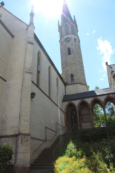 church Wendy Everything's blooming in Sigmaringen