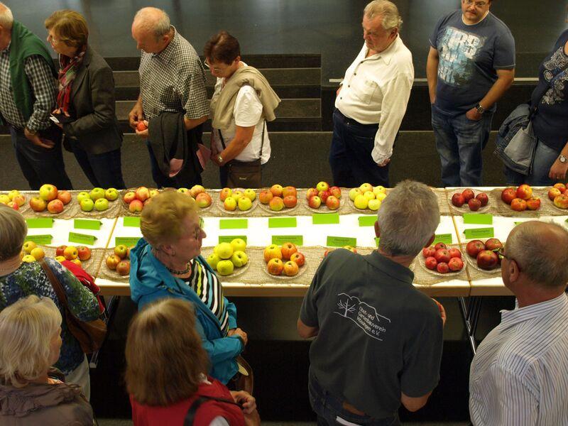Apfelfest 2015 Uli Eder Mössingen's Apple Week