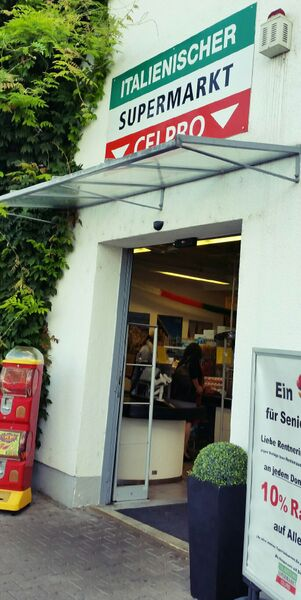Front Gemma Celpro Italian Supermarket