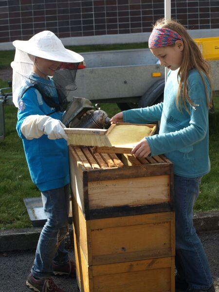 honey crafts Uli Eder Mössingen's Apple Week