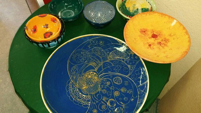 After Gemma Mal-Werk Pottery Painting Café in Mainz
