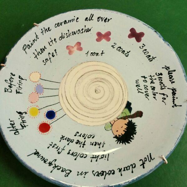 Directions Gemma Mal-Werk Pottery Painting Café in Mainz