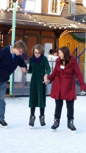 Ice rink kids Wendy Stuttgart Stadmitte