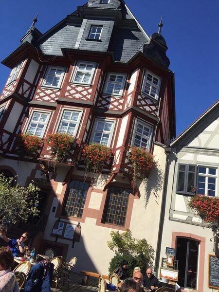 Kelly Heppenheim Admin Building Hanging around Heppenheim