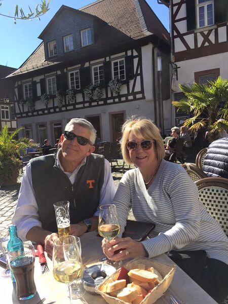 Kelly Heppenheim dining Hanging around Heppenheim