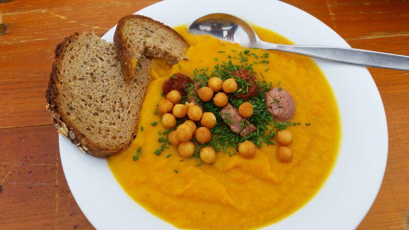 Kurbisscreme Soup2 food Wendy Guten Appetit