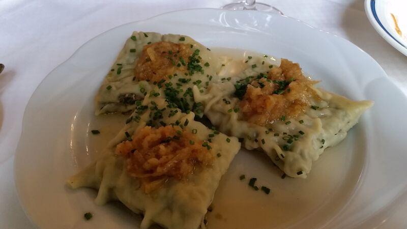 Maultaschen food Wendy Guten Appetit