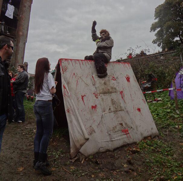 Photo 1 Cheryl Halloween at Frankenstein's Castle
