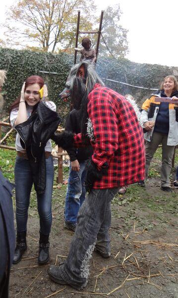 Photo 2 Cheryl Halloween at Frankenstein's Castle