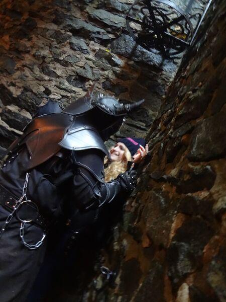 Photo 5 Cheryl Halloween at Frankenstein's Castle