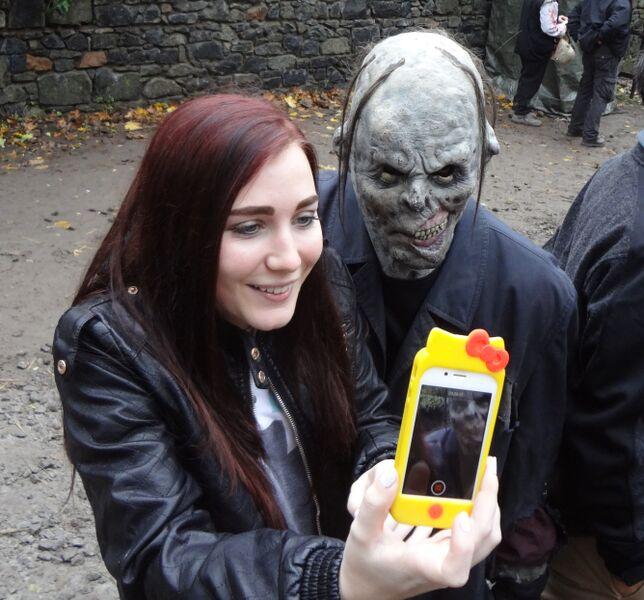 Photo 6 Cheryl Halloween at Frankenstein's Castle