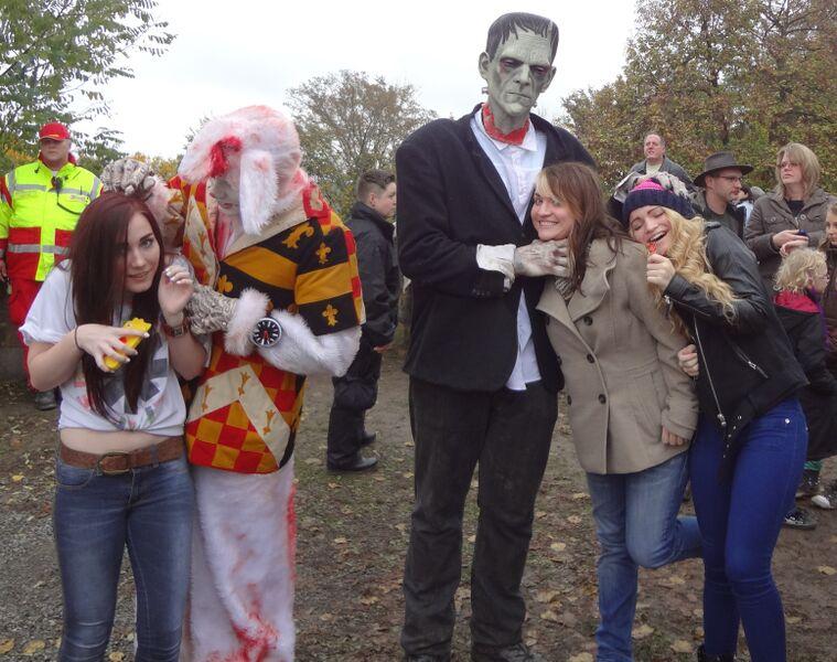 Photo 7 Cheryl Halloween at Frankenstein's Castle