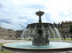 Schlossplatz fountain 2  Wendy Stuttgart Stadmitte