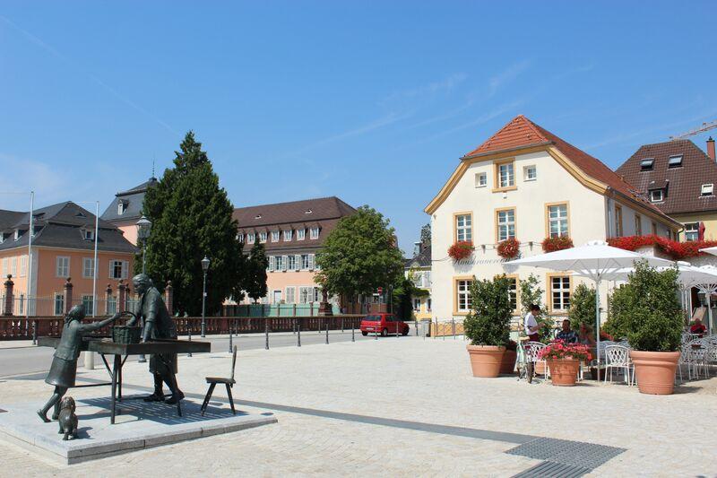 Wendy Schwetzingen downtown square