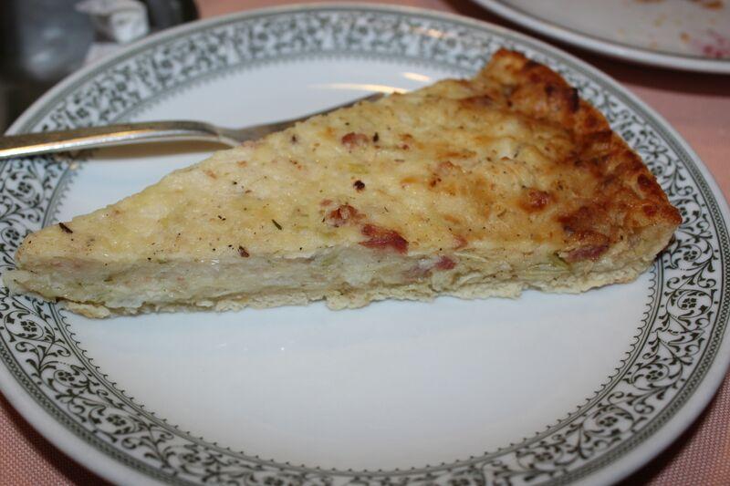 Zweibelkuchen food Wendy Guten Appetit