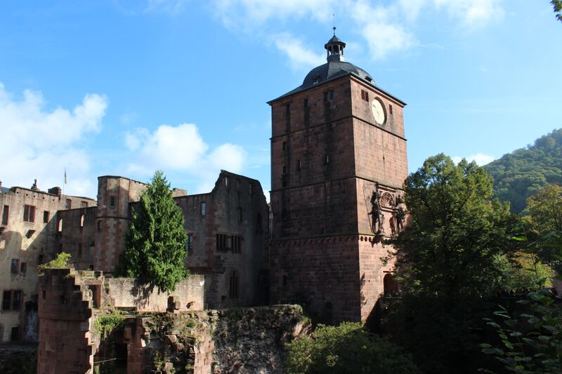 Castle Wendy A stroll through Heidelberg