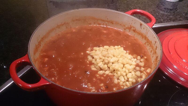 Chilli 4 food Kelly Vegetarian Chilli Recipe
