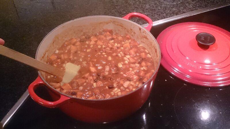 Chilli 5 food Kelly Vegetarian Chilli Recipe