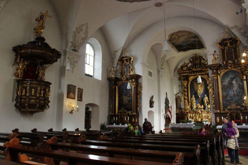 Church at the monastery Wendy Kreuzberg Monastery and Chicken Farm