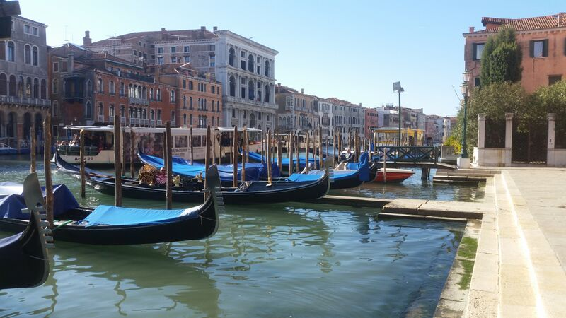 Gondolas in Venice Wendy Experience Venice like a Venetian
