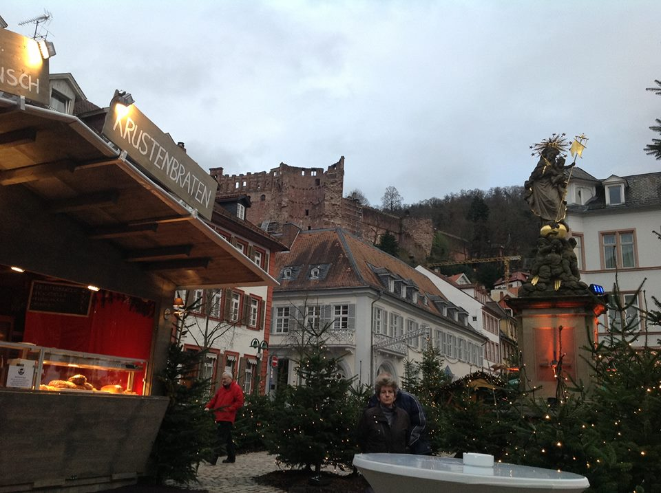 Heidelberg Christmas Markt Princess