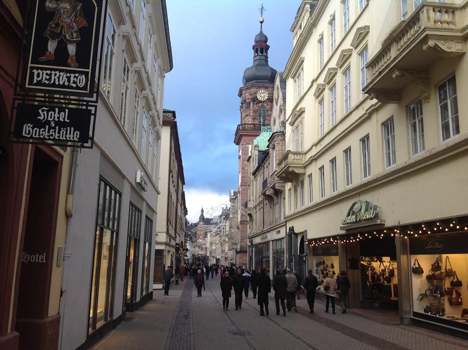 Heidelberg main street Princess