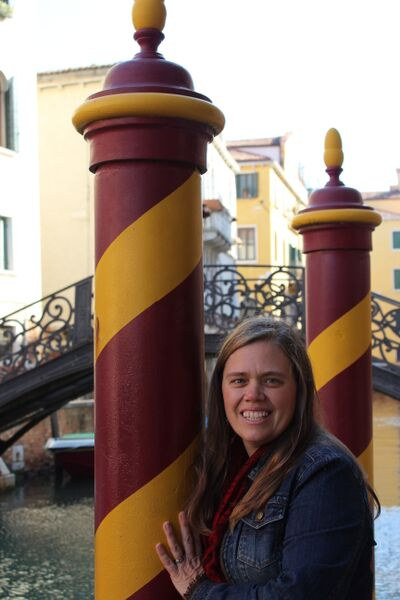 Me and waterpole Experience Venice like a Venetian