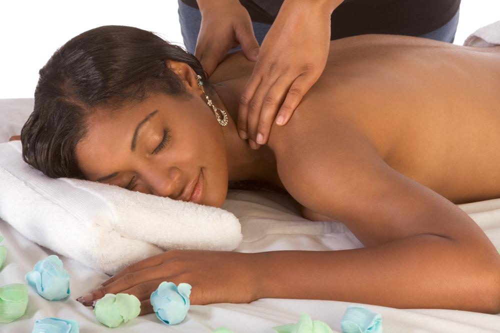 OLJ Studio Shutter black woman massage