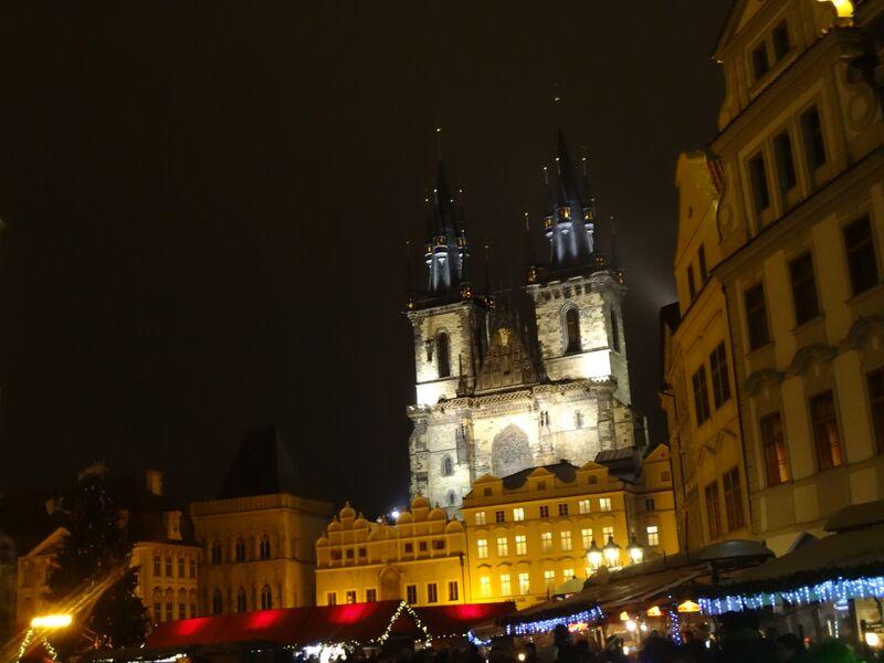 Photo 2 Cheryl Christmas Market in Wenceslas Square, Prague