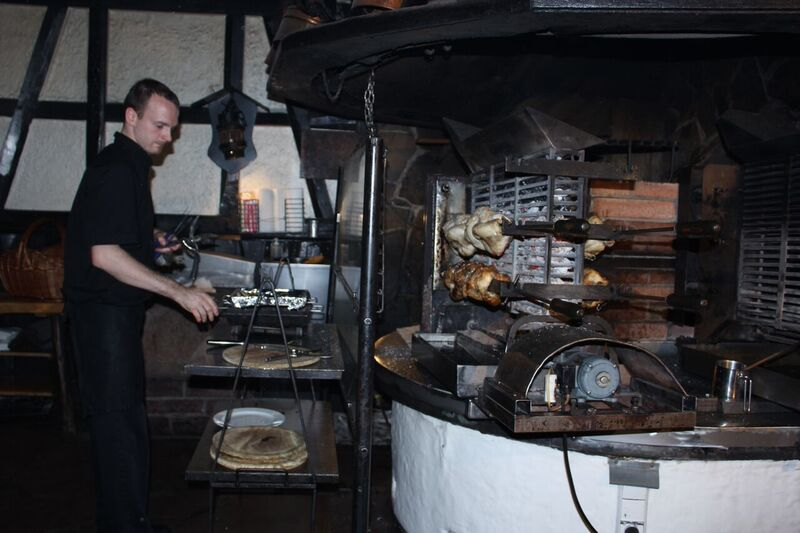 Roasting Chickens food Wendy Kreuzberg Monastery and Chicken Farm