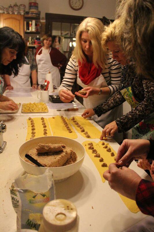 Rolling ravioli Wendy Italy's tasty treasures