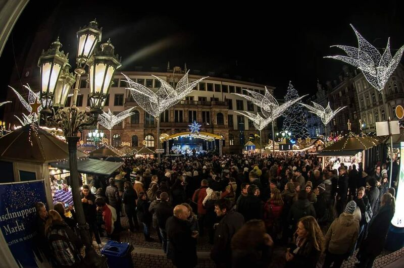 Wiesbaden center Gemma 8 Tips for German Christmas Markets