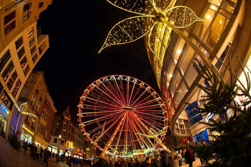 Wiesbaden wheel Gemma 8 Tips for German Christmas Markets