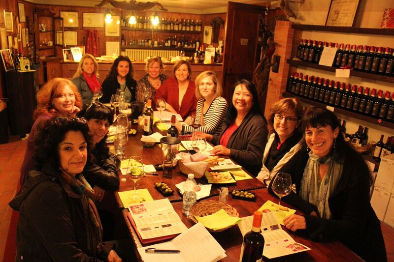 Wine tasting at Cordara Wendy Italy's tasty treasures