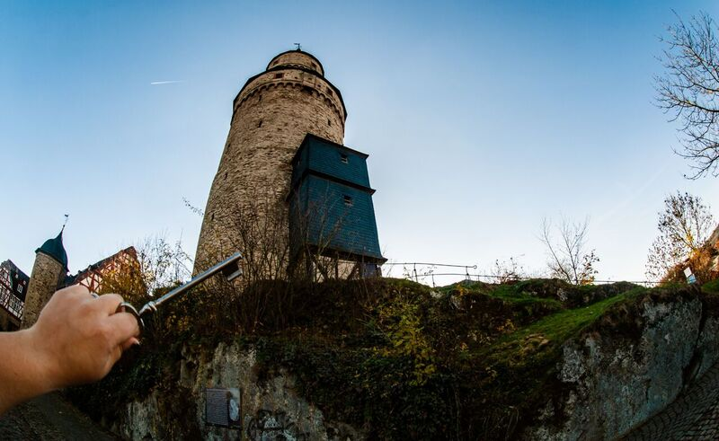 11 time to go in Gemma Discover Idstein from the Witch Tower