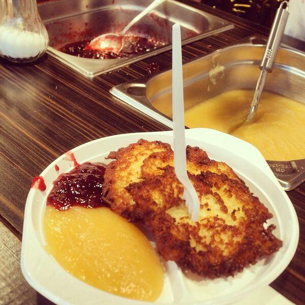 15.1 potato pancake Gemma Rüdesheim Christmas Market of Nations